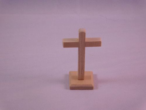 Small Cross on Stand