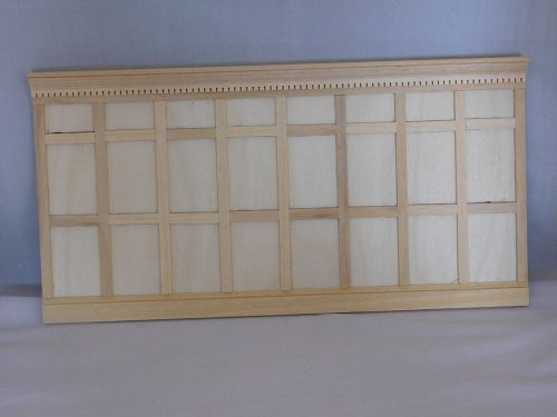 Real Pine High Wood Wall Panelling