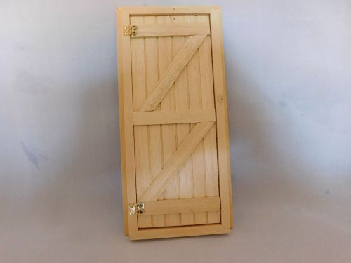 Ledged and Brace door