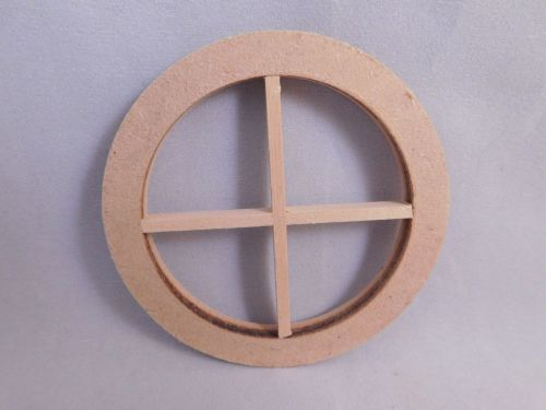 4  pane round window        NEW