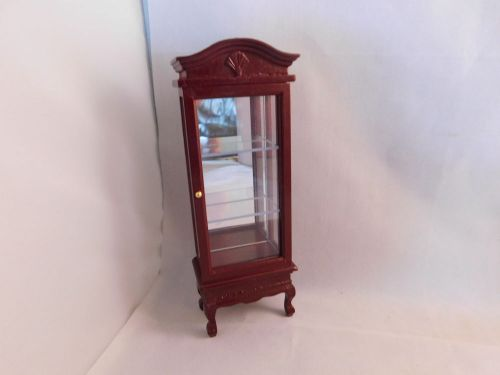 Mahogany Display cabinet    NEW