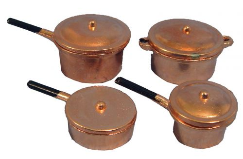 Copper Pan set