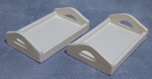 White Wooden Tray (Each)