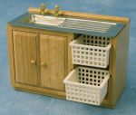 Sink Unit with Baskets
